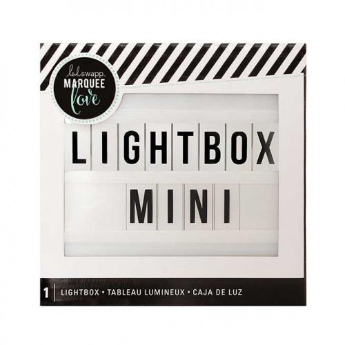 Tableau lumineux - Lightbox Mini - blanc