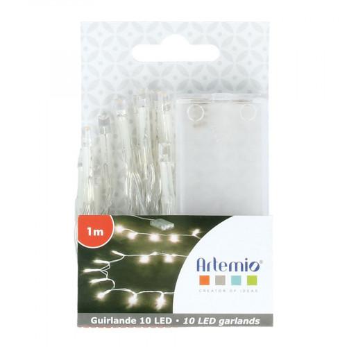 Guirlande lumineuse - 10 LED - 1 m