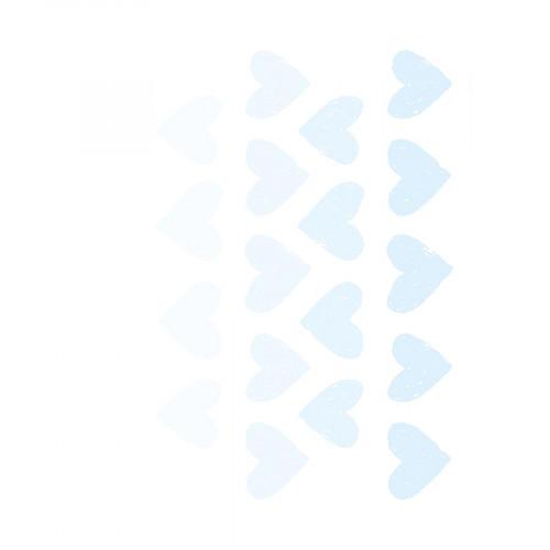 M.Design - Stickers pour Fenêtres - Petits cœurs