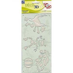 Pochoirs DECO 3D