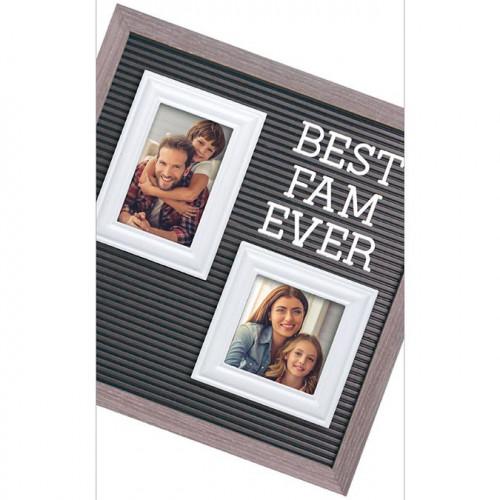 Cadre pour Letter Board - blanc - 2 pcs