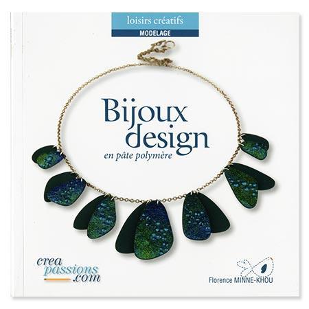 Livre - Bijoux design en pâte polymère