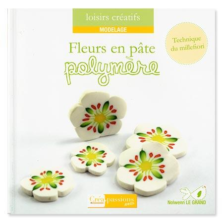 Livre- Fleurs en pâte polymère