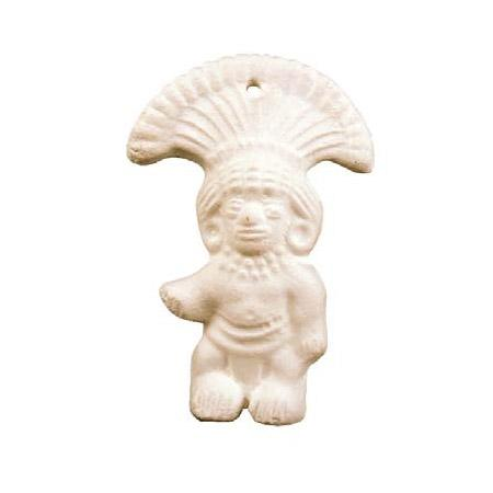 Powertex - Forme en plâtre figurine Inca - h. 12 cm