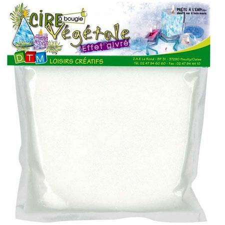 Cire végétale - Effet givré 400 g