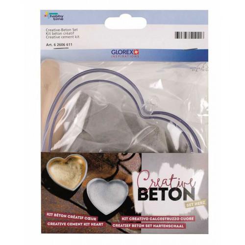 Kit Béton créatif - Cœur