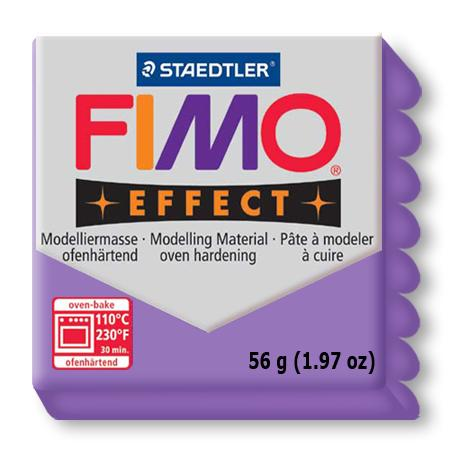 Fimo effect - Lilas translucide (604)