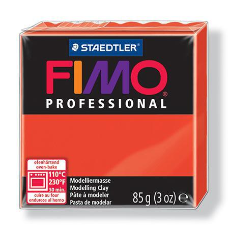 Fimo Professionnal - Rouge Pur (200) - 85 g
