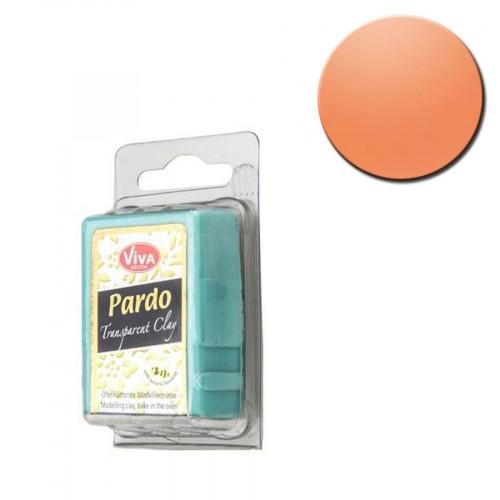 Pâte polymère Pardo Jewellery Clay Transparent Orange 56 g