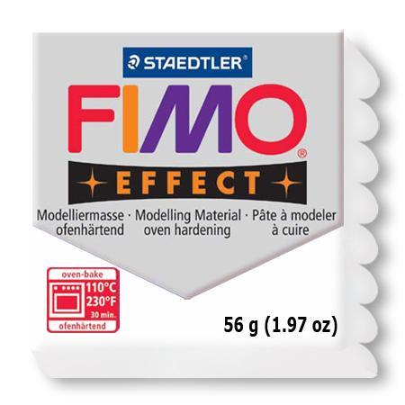 Fimo effect - Blanc pailleté (052)