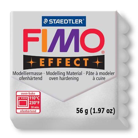 Fimo effect - Argent métallique (81)