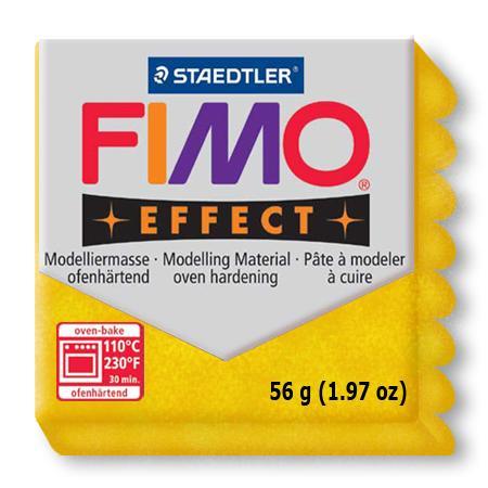 Fimo effect - Or pailleté (112)