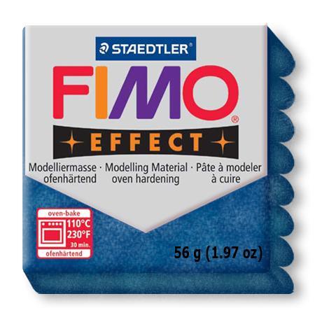 Fimo effect - Bleu pailleté (302)