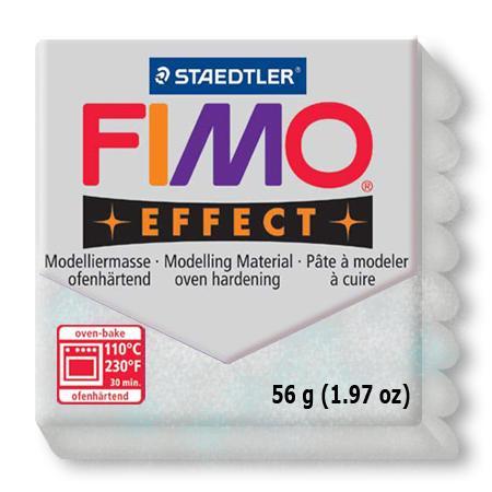 Fimo effect - Argent pailleté (812)