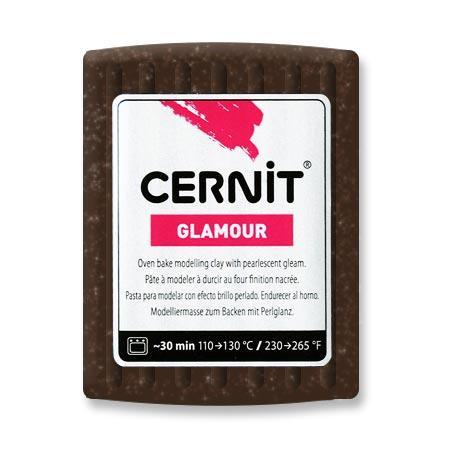 Pâte Polymère Cernit Glamour Bronze 56 g