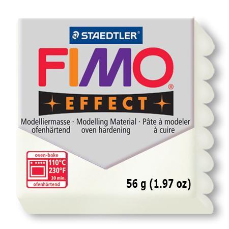 Fimo effect - Blanc métallique (08)