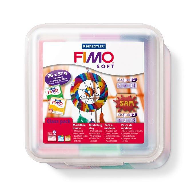 Coffret Atelier Fimo - 26 pains de 57 g + accessoires