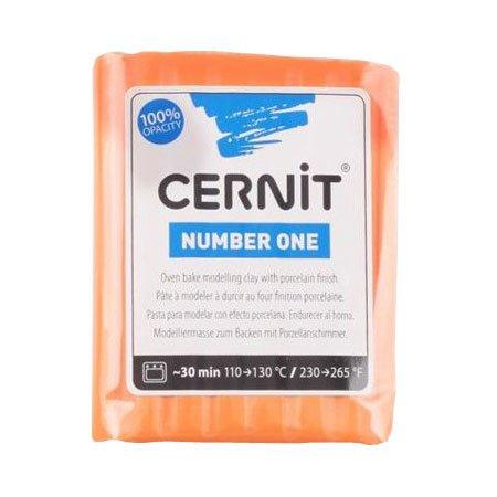 Pâte Polymère Cernit Number One Corail 56 g