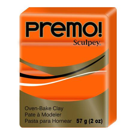 Pâte à modeler Premo - Orange