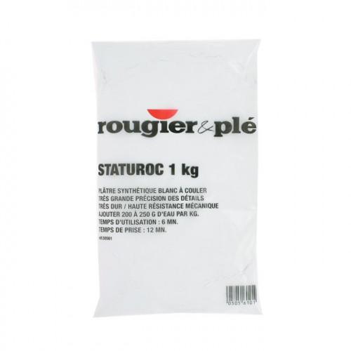 Plâtre synthétique blanc STATUROC 1 kg