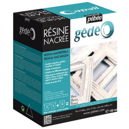 Kit Résine Nacrée - 150 ml - Blanc
