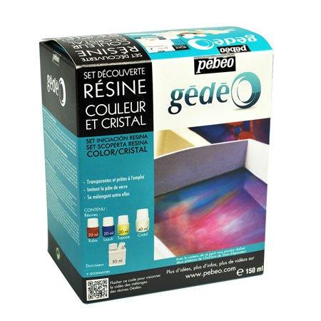 Kit Résine Couleur - Set découverte 3 couleurs 20 ml + 1 cristal 40 ml