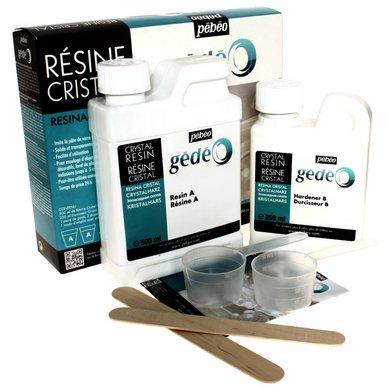 Gédéo - Kit résine cristal - 750 ml