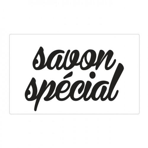 Tampon pour savon Savon Spécial - 40x65mm