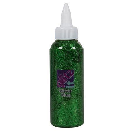 Glitz It - Colle Glitter - Vert Des Champs - 120 ml