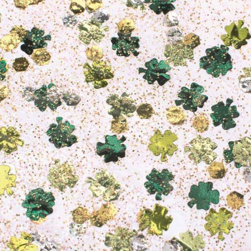 Glitter Glue - Trèfles verts - 53 ml