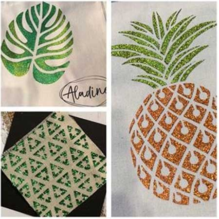 Peinture paillettes Izink Diamond vert pastel - 80 ml