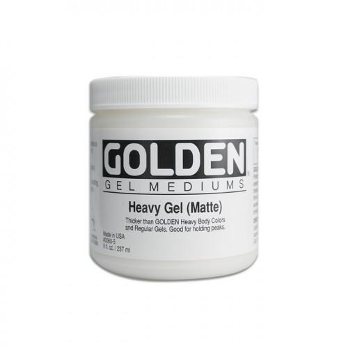Gel medium épais mat Golden - 237 ml