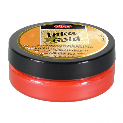 Cire Inka Gold Rouge lave 62,5 g
