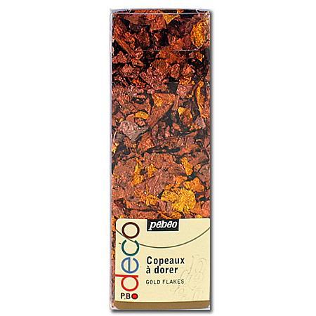 Copeaux à dorer - Brun rouge