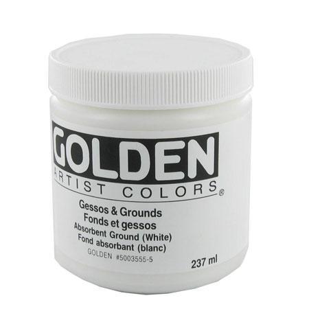 Golden 236 ml - Fond absorbant blanc