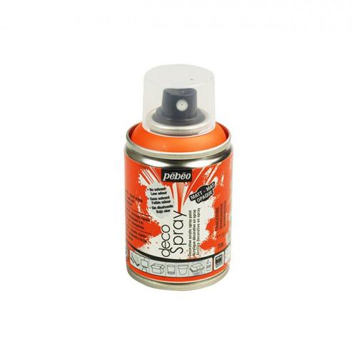 DecoSpray - Peinture en bombe - 100 ml - Mandarine