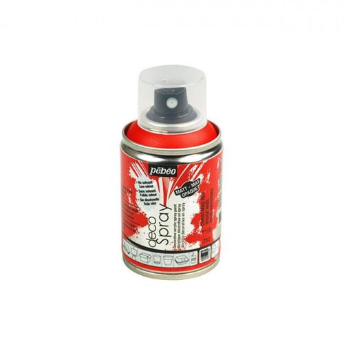 DecoSpray - Peinture en bombe - 100 ml - Rouge Noël