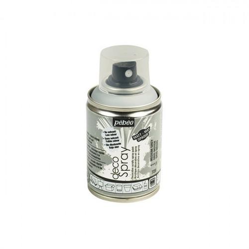 DecoSpray - Peinture en bombe - 100 ml - Gris Moyen