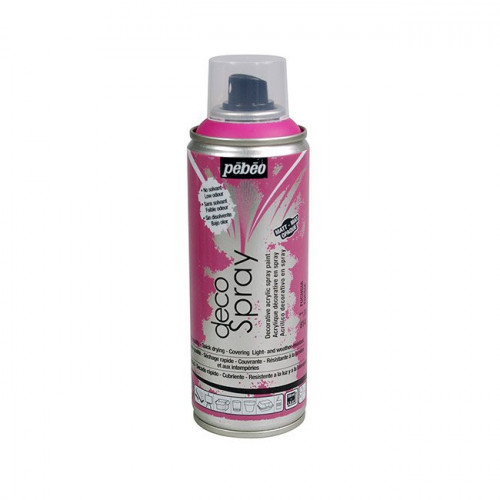 DecoSpray - Peinture en bombe - 200 ml - Fuchsia