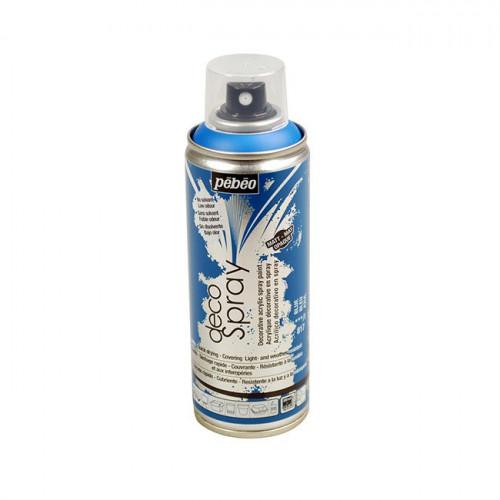 DecoSpray - Peinture en bombe - 200 ml - Bleu