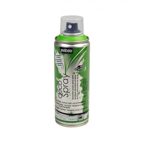 DecoSpray - Peinture en bombe - 200 ml - Vert Lumière