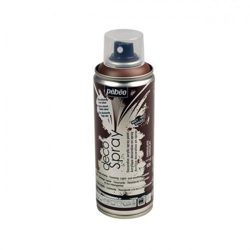 DecoSpray - Peinture en bombe - 200 ml - Choco