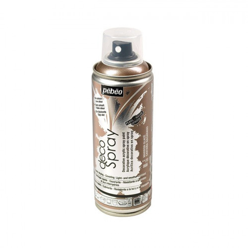 DecoSpray - Peinture en bombe - 200 ml - Marron Glacé