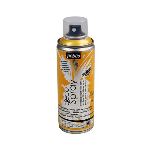 DecoSpray - Peinture en bombe - 200 ml - Or