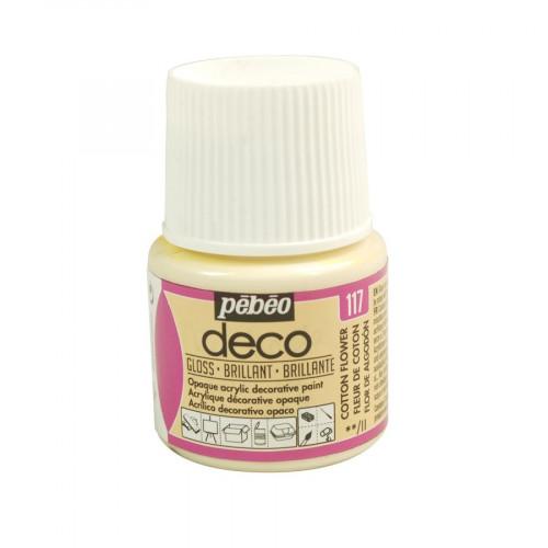 PBO déco brillant - Fleur de coton 45 ml - couleur 117