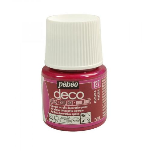 PBO déco brillant - Fuchsia 45 ml - couleur 127