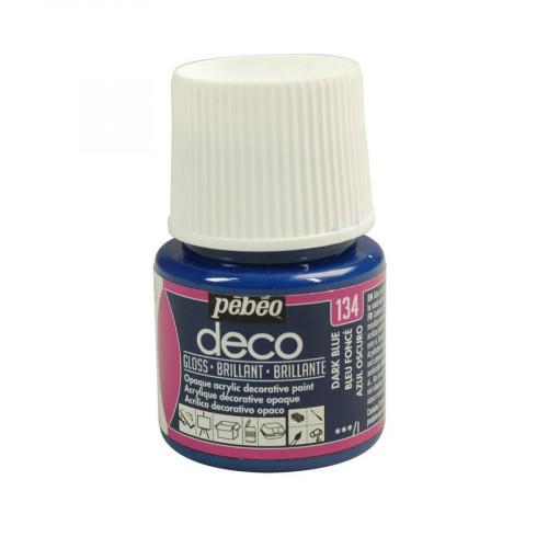 PBO déco brillant - Bleu Foncé 45 ml - couleur 134