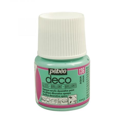 PBO déco brillant - Aqua 45 ml - couleur 136