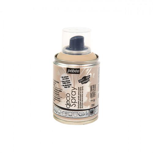 Peinture en bombe DecoSpray taupe clair - 100 ml