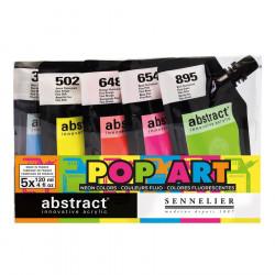 Peinture acrylique Abstract